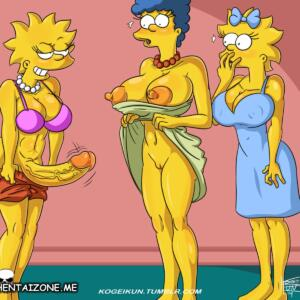 Simpson Marge Sex Daughters (1/5)