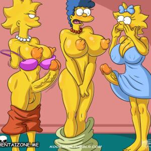 Simpson Marge Sex Daughters (2/5)