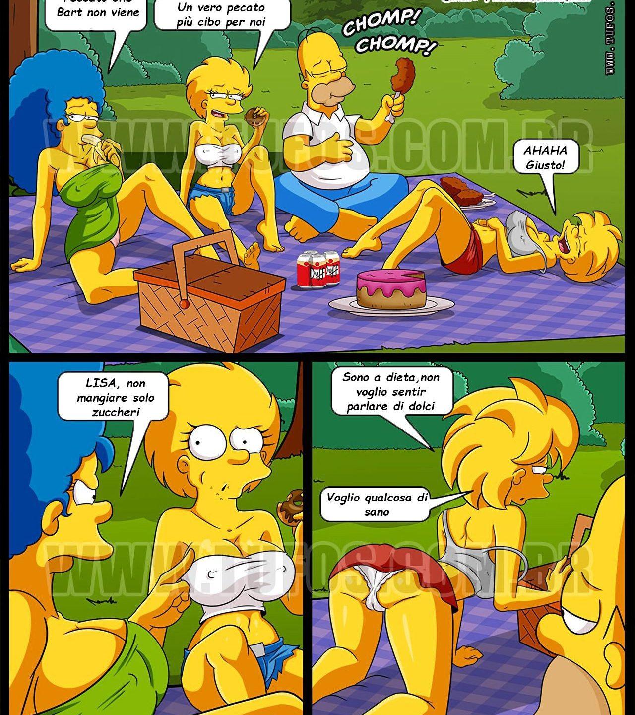 Simpson il picnic proibito Hentai ita
