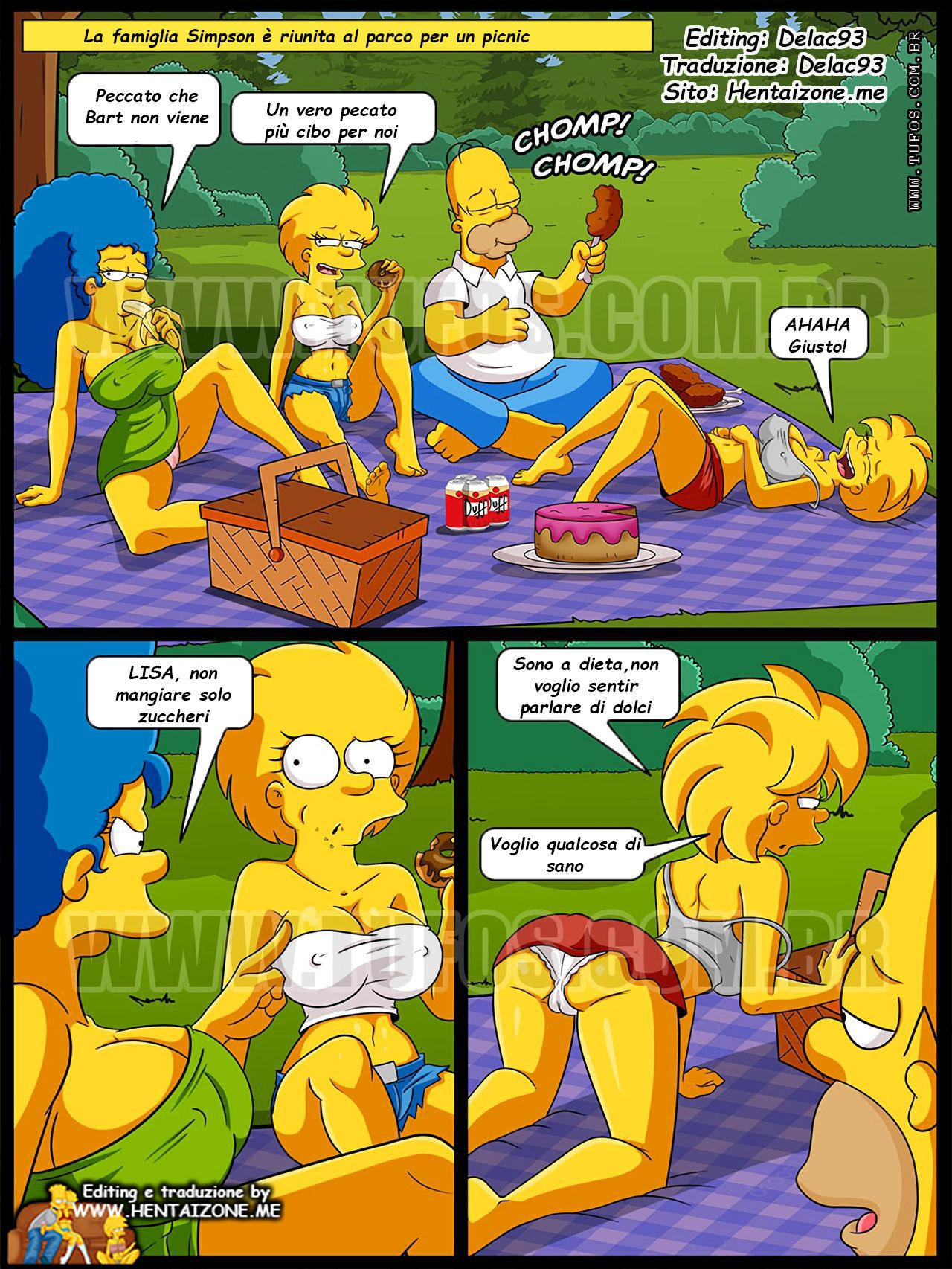 simpson picnic incesto porno marge lisa maggie hentai ita a colori