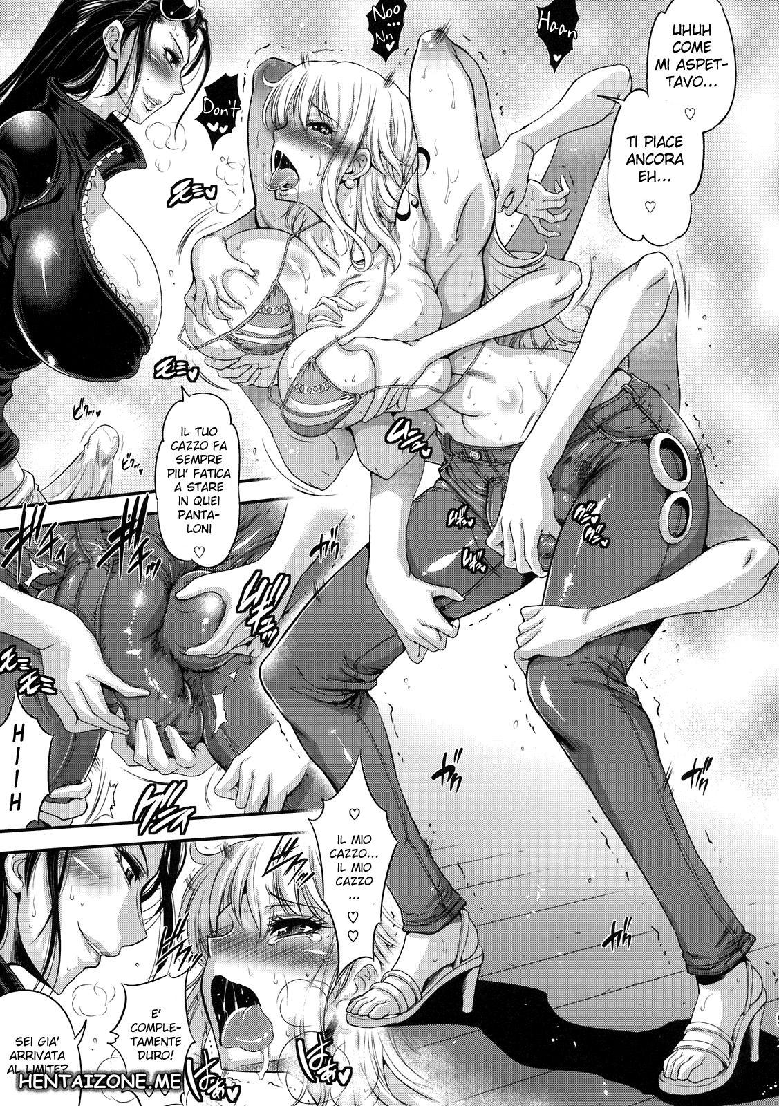 hentai nico robin e nami fanno sesso ita completo