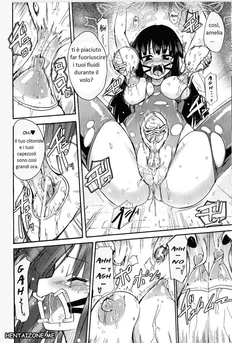 ragazza a gambe aperte fa uscire latte dalle tette hentai
