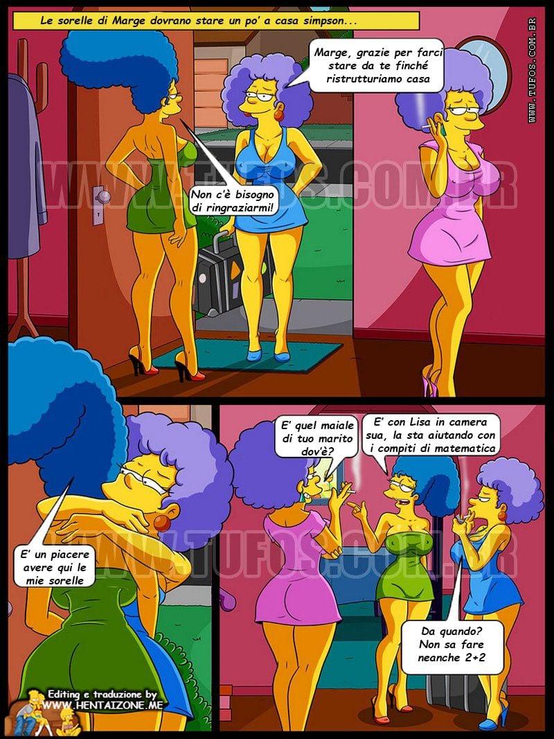 Simpson – Un bagno con le zie Italiano