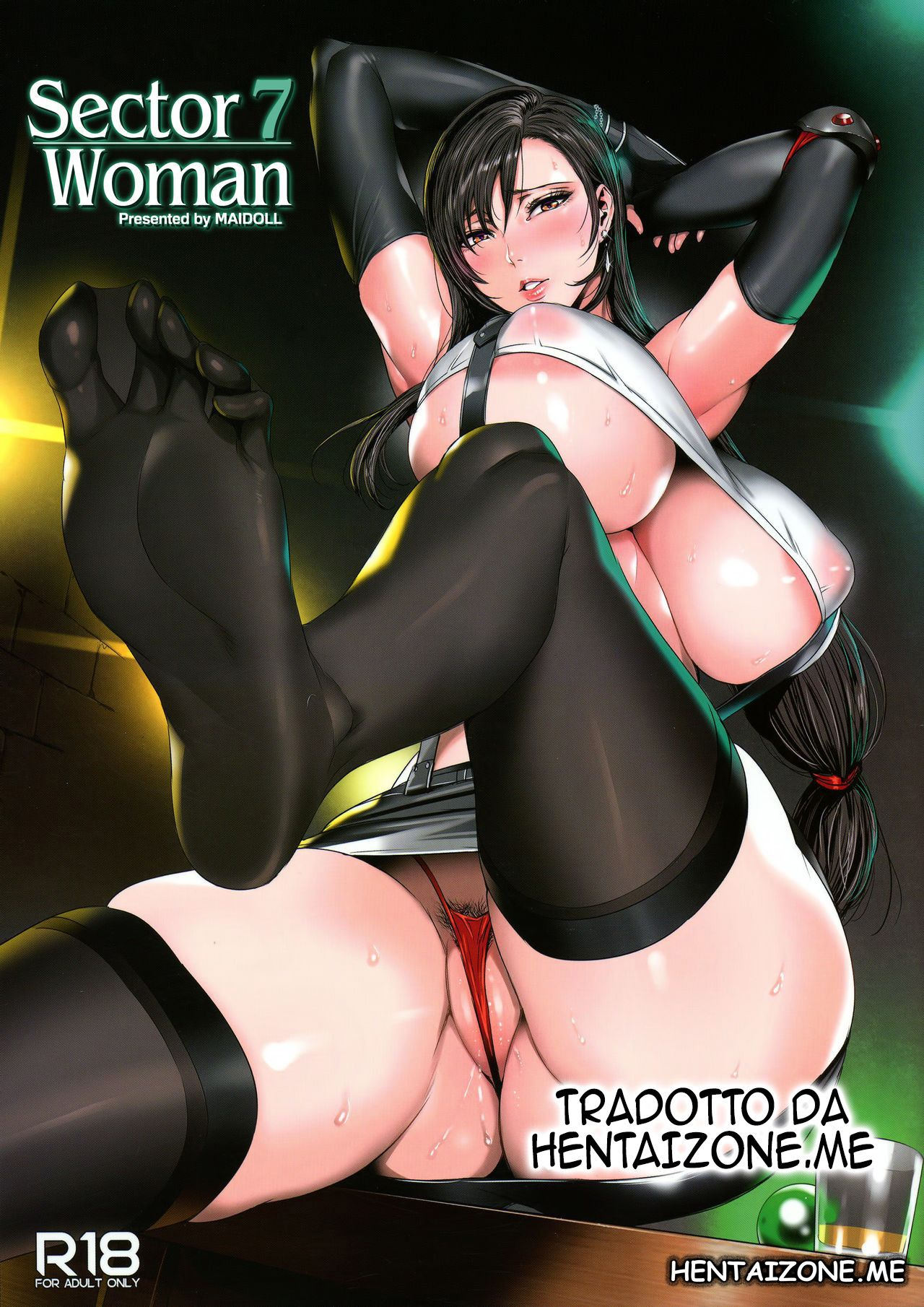 tifa huge tits final fantasy hentai