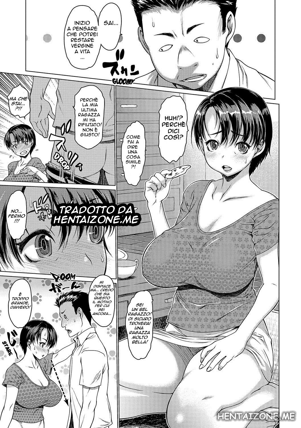 mamma mother hentai porno manga italiano