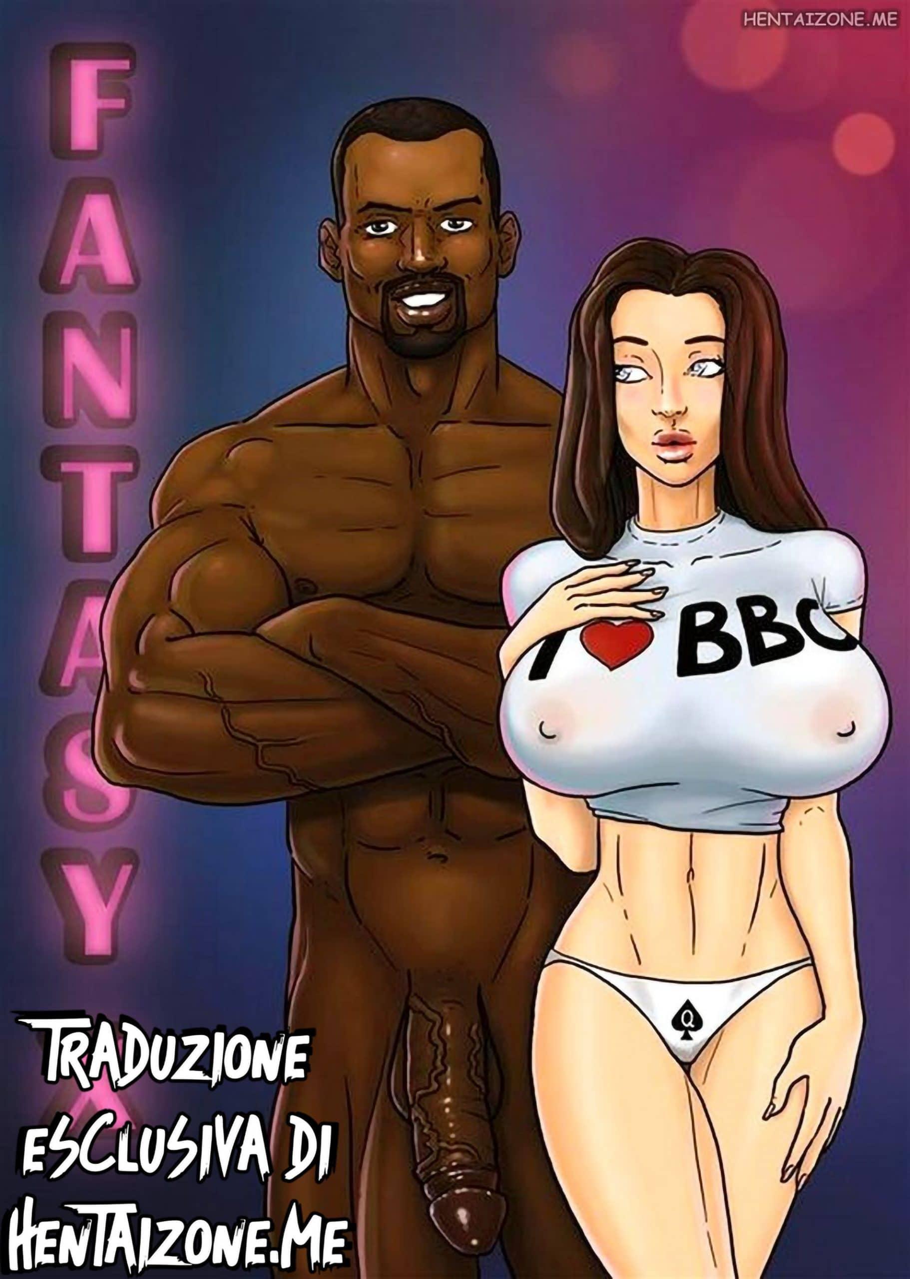 Grosso cazzo nero scopa fighetta bianca hentai interacial porno fumetto hentai xxx tettona