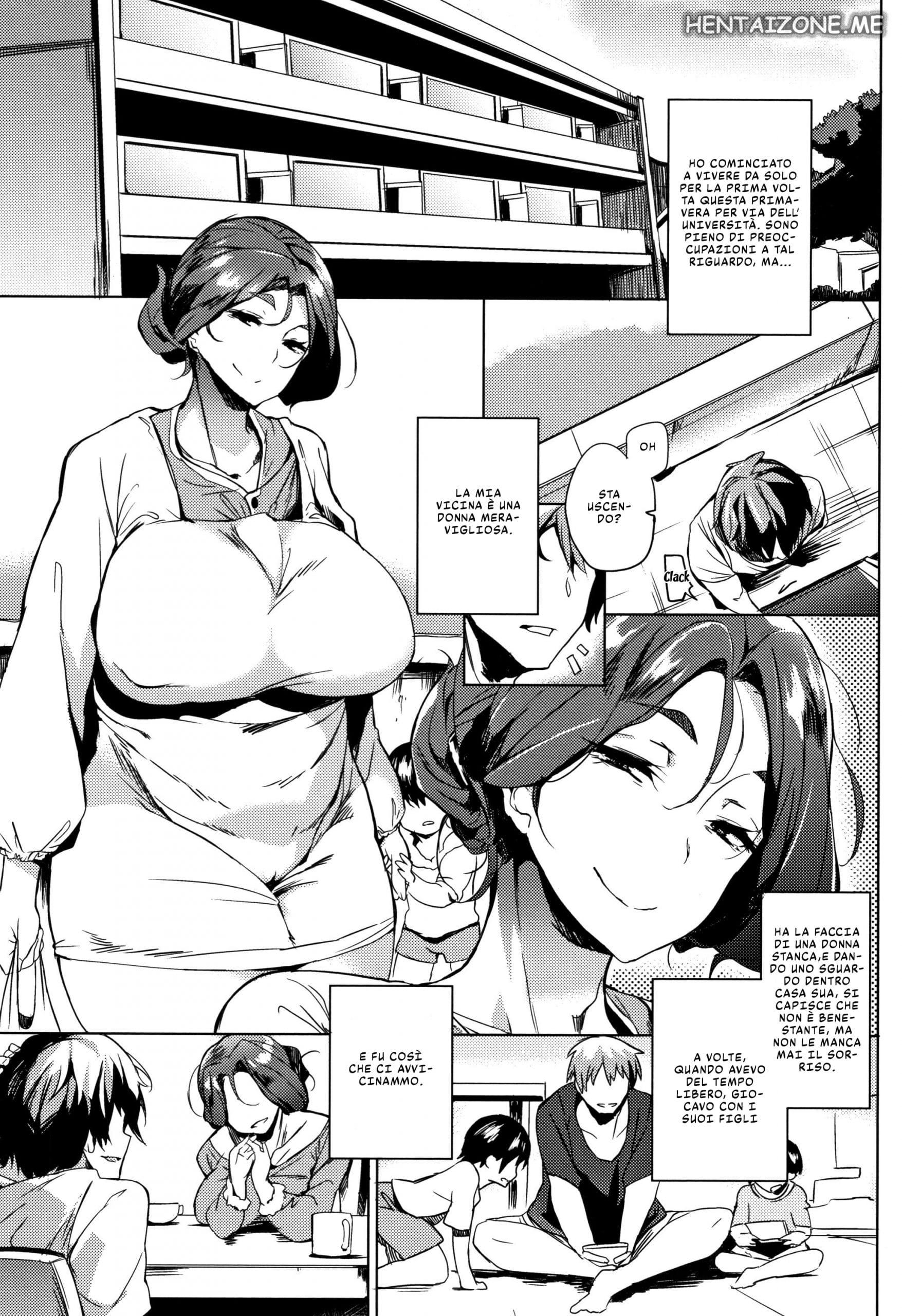 La sexy vicina ha due figli e nessun marito