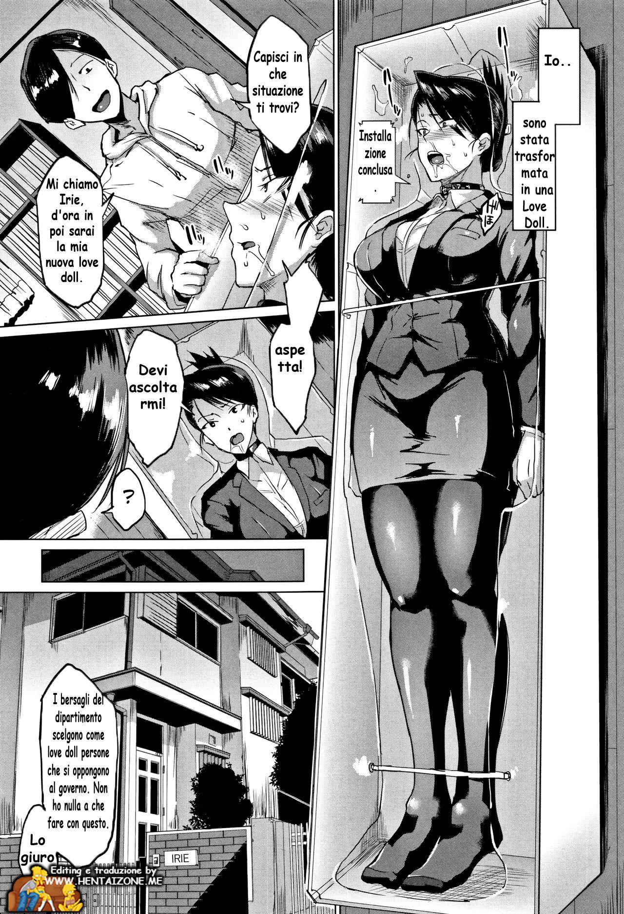 slave doll hentai ita schiava pbblica