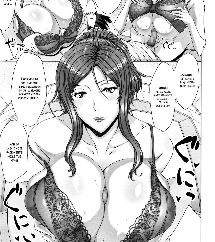 La lingeria della maestra sexy femdom hentai