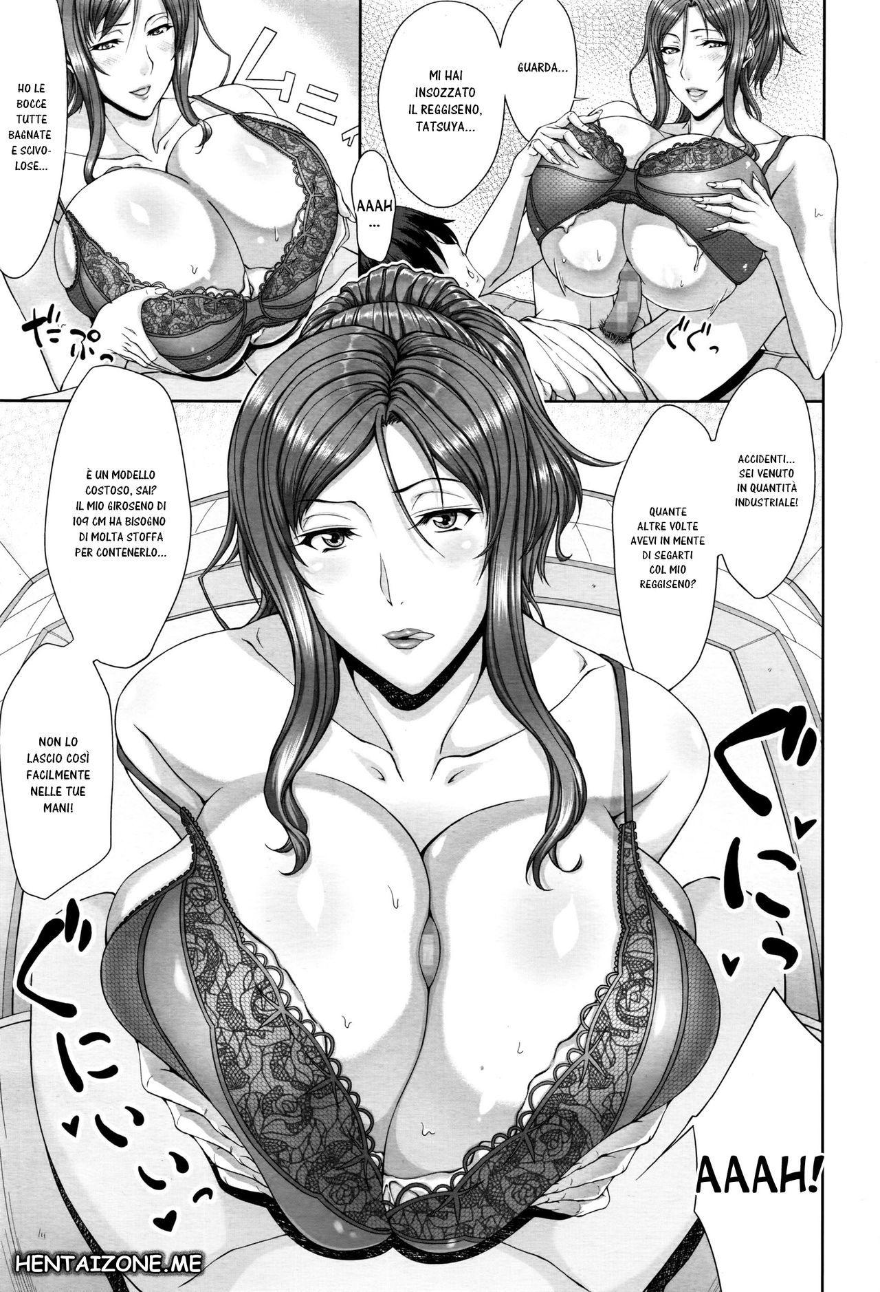 hentai femdom lingeria mutandine sporche manga sex porno